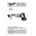 """Milwaukee V28 1/2"""" Right Angle Drill Operator's Manual"""