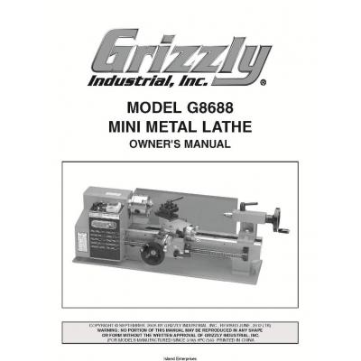 mini metal lathe manuals