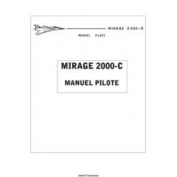 Dassault Mirage 2000-C Manuel Pilote $5.95