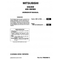 Mitsubishi 4D5 Series Engine Workshop Manual