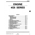 Mitsubishi 4G5 Series Engine Workshop Manual
