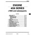Mitsubishi 4G6 Series Engine Workshop Manual