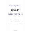 Mooney M20E Super 21 Airplane Flight Manual/POH $5.95