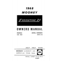 Mooney M20F Executive 21 Owner's Manual 1968 $13.95