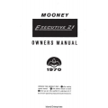 Mooney M20F Executive 21 Owner's Manual 1970 $13.95