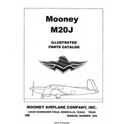 Mooney M20J Illustrated Parts Catalog 2003 $13.95