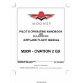 Mooney M20R- Ovation 2 GX Pilot's Operating Handbook 2007 - 2010 $13.95