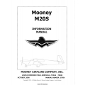 Mooney M20S POH3750A Information Manual $13.95