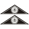 Mooney Yoke Airacraft Decal/Sticker 1 5/16''h x 4''w!