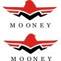 Mooney Aircraft Logo Decal,Sticker!