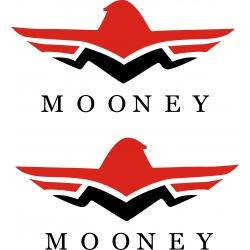 Mooney Aircraft Logo Decal,Sticker!