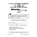 Mooney M20J 1978 Pilot's Operating Handbook & Flight Manual $13.95