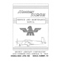 Mooney M20M Service and Maintenance Manual $13.95