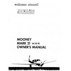Mooney Mark 21 M20B Owners Manual