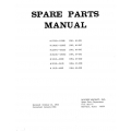 Mooney Spare Parts Manual $13.95