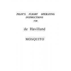 De Havilland Mosquito FB6 Pilot's Flight Operating Instructions $2.95