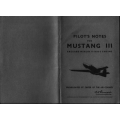 Mustang III Packard Merlin V-1650-3 Engine Pilot's Note $2.95