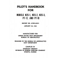 Stearman N2S-1, N2S-2, N2S-3, PT-17 & PT-19 Pilot's Handbook $2.95
