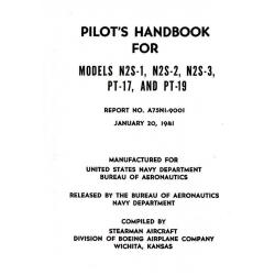 Stearman N2S-1, N2S-2, N2S-3, PT-17 & PT-19 Pilot's Handbook