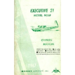 Mooney M20F Executive 21 Owners Manual 1966-1967 $9.95