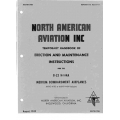 North American Aviation B-25 H-1-NA Erection & Maintenance Instructions $13.95