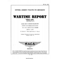NACA North American XP-51 Airplane Flight Tests of Beveled Trailing Edge $4.95