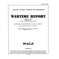 NACA XP-51 Airplane Flight Tests of Dive-Recovery Flaps Wartime Report $2.95