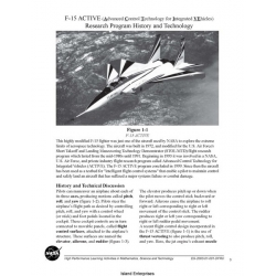 NASA F-15 ACTIVE Research Program History and Technology $4.95