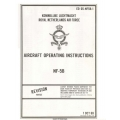 Northrop NF-5B Aircraft EO 05-NF5B-1 Operating Instructions 1969 - 1974 $9.95