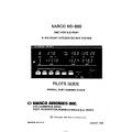 Narco NS-800 DME/VOR/ILS/RNAV Pilot's Guide 1985 0107B