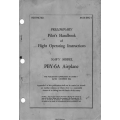 PBY-6A Airplane Navy Model Preliminary Pilot's Handbook & Flight Operating Instructions AN 01-5MC-1 $4.95