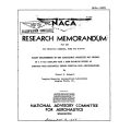 NACA P-51D Airplane Flight Measurements Research Memorandum $2.95