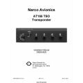 Narco AT155 TSO Transponder Installation Manual 03608-0620 2002 03608-0620 $9.95
