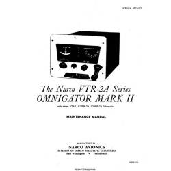 Narco VTR-2A Series Omnigator Mark II Maintenance Manual 14250-019