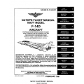 Grumman F-14D Tomcat Aircraft Natops Flight Manual/POH 1997 $13.95