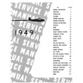 Navion 1949 Service Manual $13.95