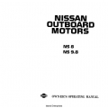 Nissan NS 8 and NS 9.8 Outboard Motor Owner's Operating Manual $9.95