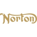 """Norton Motorcycle Decals/Vinyl Sticker 5"""" wide by 1.43"""" high!  $4.99"""