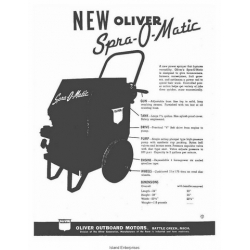 Oliver Outboard Motors Spra-O-Matic Bulldog 35 Service Manual