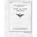 Curtiss P-40D and P-40E Airplanes T.O. 01-25CF-1 Pilot's Flight Operating Instructions 1943 $4.95