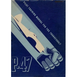 Republic P-47 Thunderbolt Pilot Training Manual $4.95