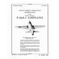 Lockheed P-80A-1 Pilot's Flight Operating Instructions $2.95