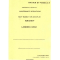 Lockheed P-2H and SP-2H Neptune Navy Model Aircraft Landing Gear Maintenance Instructions 1962 - 1970 $9.95