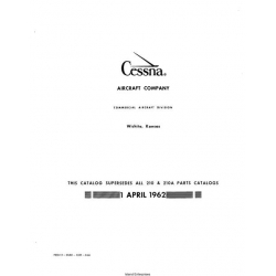 Cessna 210 and 210A Parts Catalog 1962 P255-12 $29.95