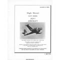 Lockheed P2V-7 Neptune Navy Model Aircraft Flight Manual/POH 1961 $9.95