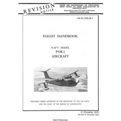 Martin P5M-2 Marlin Navy Model Aircraft Flight Handbook 1955 - 1956 $5.95