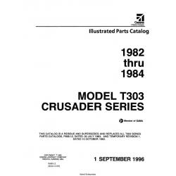 Cessna Model T303 Crusader Series Illustrated Parts Catalog (1982 Thru 1984) P689-12