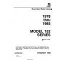Cessna Model 152 Series Illustrated Parts Catalog (1978 Thru 1985) P692-13  $29.95