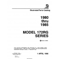 Cessna Model 172RG Series Illustrated Parts Catalog (1980 Thru 1985) P693-12  $29.95