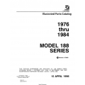 Cessna Model 188 Series Illustrated Parts Catalog (1976 Thru 1984) P694-12  $29.95